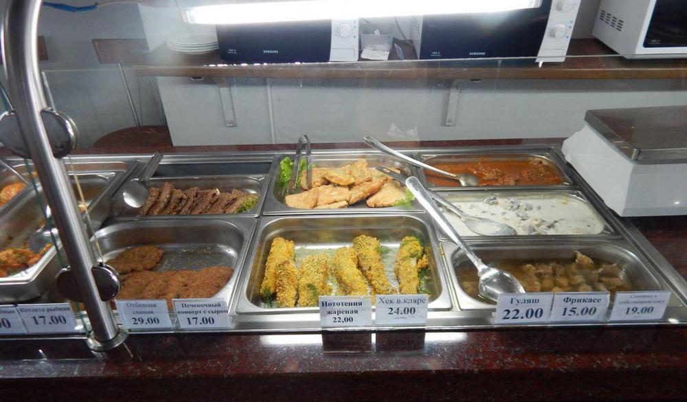 Цены в кафе Коблево