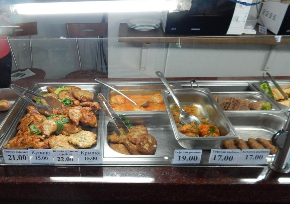 Цены в кафе Коблево1