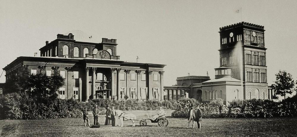 дворец раньше