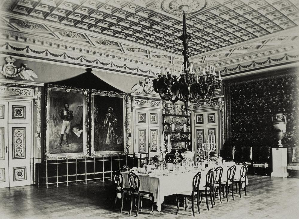 интерьер старый дворца гомель