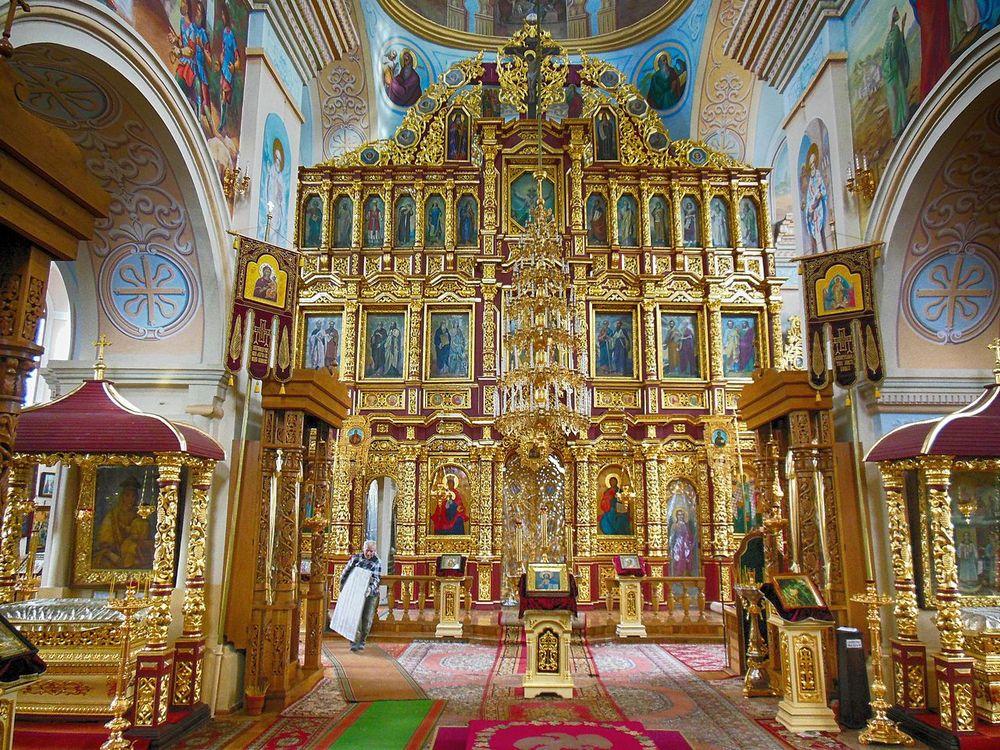 Могилев Никольская церковь