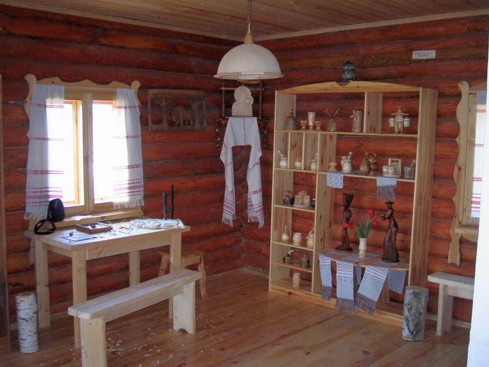 домик плотника
