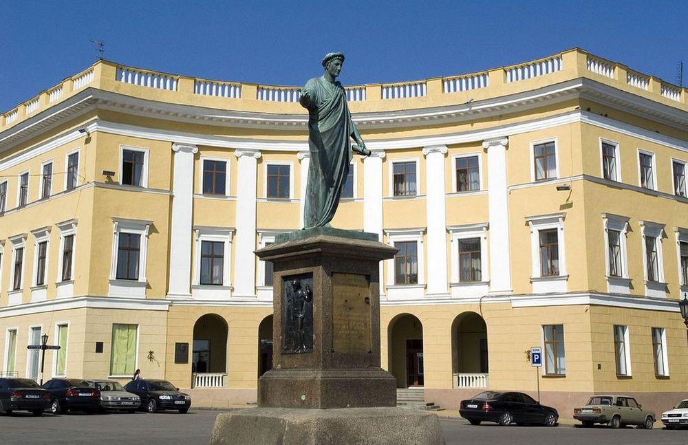 Одесса Памятник Дюку де Ришелье