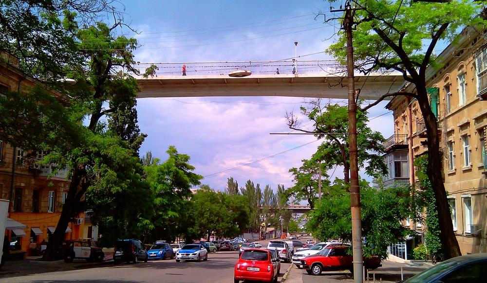 Одесса Тещин мост