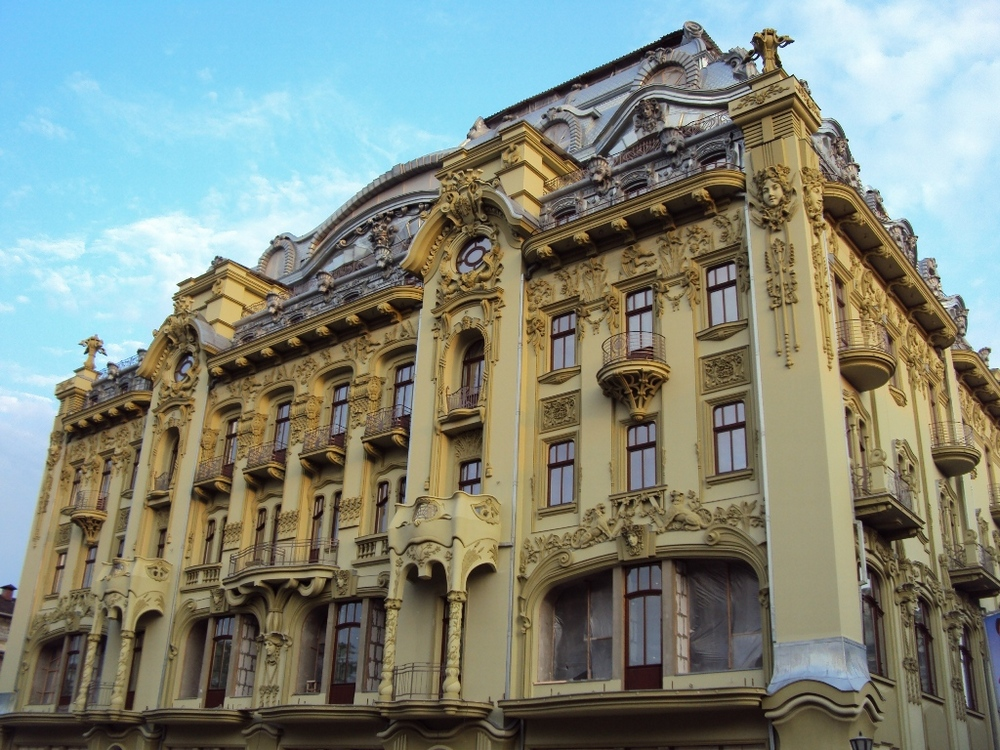 Одесса гостиница Московская