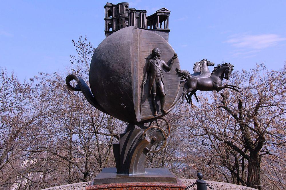 Одесса памятник Апельсину