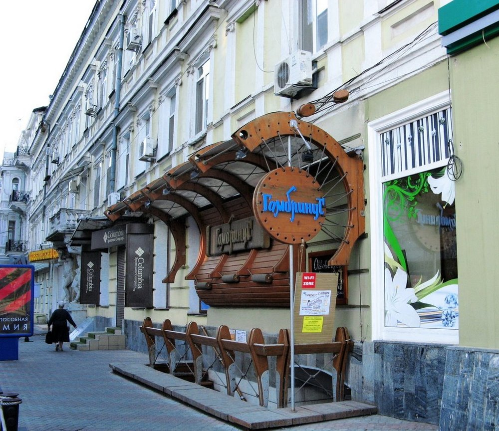 кафе Одесса2