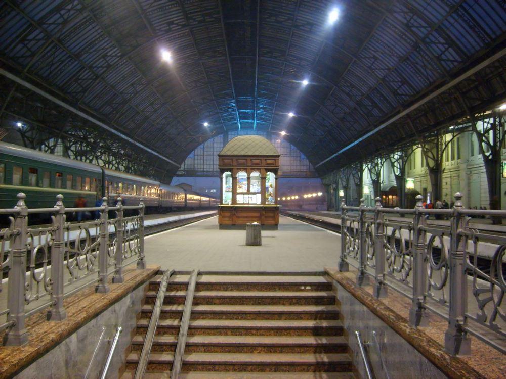 Львов.Железнодорожный вокзал