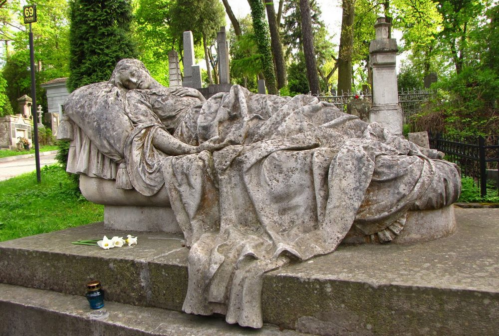 Львов.Лычаковское кладбище1
