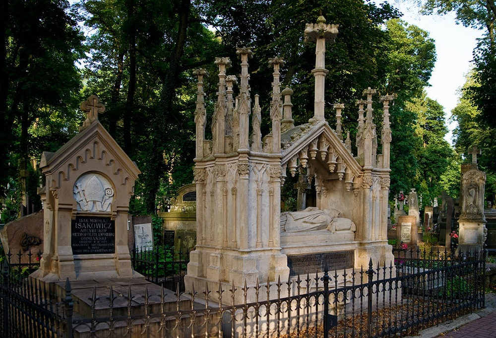 Львов.Лычаковское кладбище7